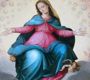 Chiesa di Sant'Alessandro a Giogoli, Madonna in gloria