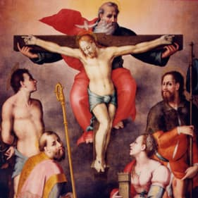 Trinità e Santi Pier Francesco Foschi